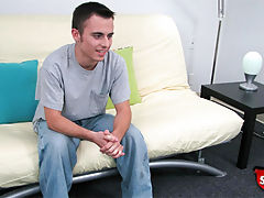 Straight boy mark does a casting couch video for broke straight boys