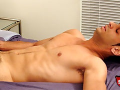 Cute straight boy does a casting couch video for broke straight boys