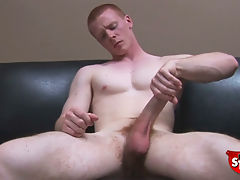 Spencer todd is the new boy in town and he shows off a body that has a cock to match